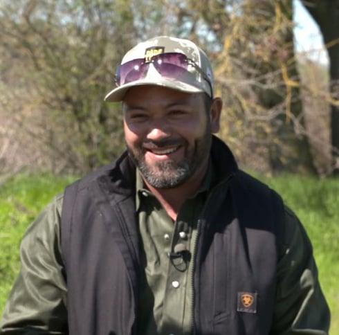 Luis Gaytan smiling