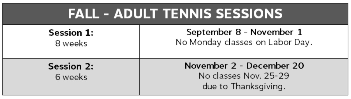 8Tennis2-Fall Adult Sessions