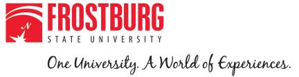 Frostburg State University: One University. A World of Experiences.