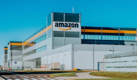 Amazon logistics center in Yucatán