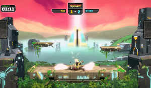 Super Stomp, the first two-player game for ValoJump