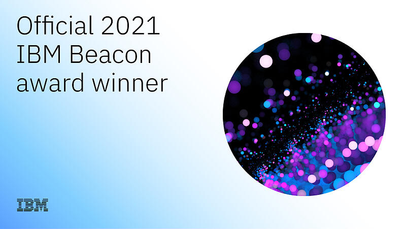 Enzyme Advising GroupWins 2021 IBM Beacon Award forOutstanding Cloud & AI Embed Solution