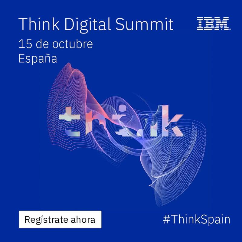 Enzyme seleccionado como partner experto en IBM Cloud en el Think Digital Summit España