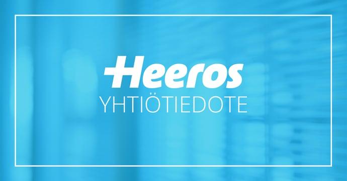 Heeros Oyj:n liiketoimintakatsaus 1.1.–30.9.2021