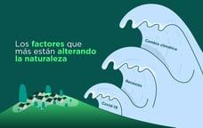 ¿Cuáles son los factores que más están alterando la naturaleza?