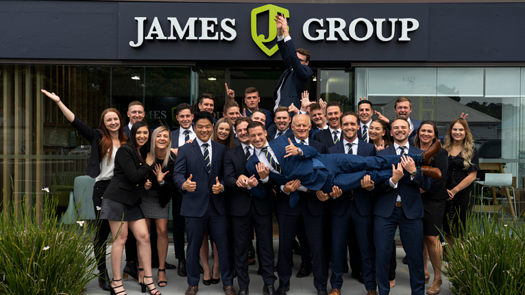 Case Study: Business Coaching - James Group