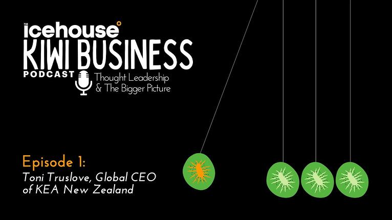 Episode 1 - Kiwi Business Podcast: Toni Truslove