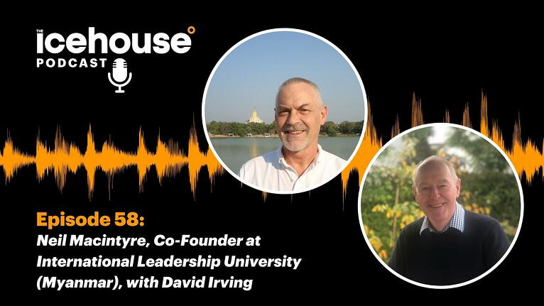 Episode 58: Neil Macintyre - Hosted by David Irving