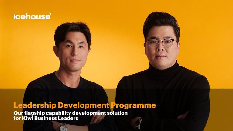 The Icehouse Product Focus: Leadership Development Programme (LDP)
