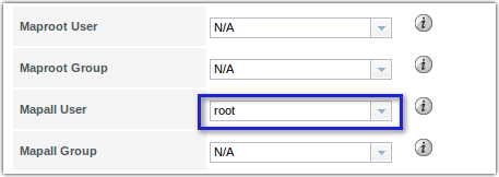 freenas mapall user root