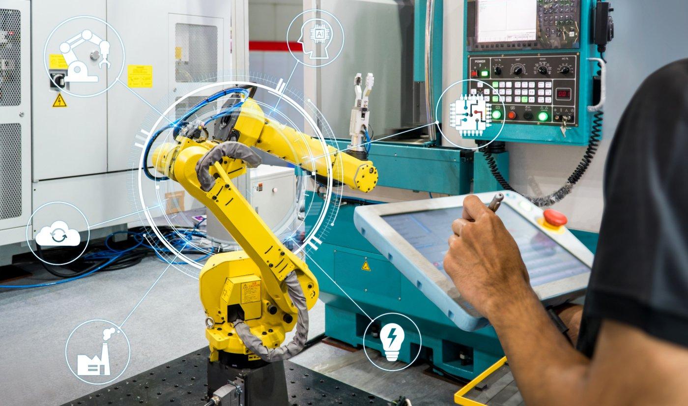 futuristic robotic arm