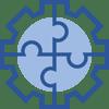 teamwork cog icon