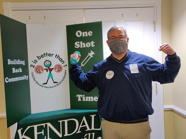 Vaccination Day at KAG