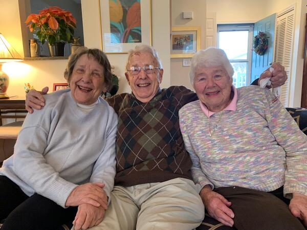 Over Seven Decades of Friendship