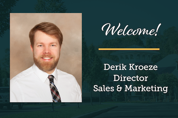 New Director of Sales & Marketing Ready to Roll