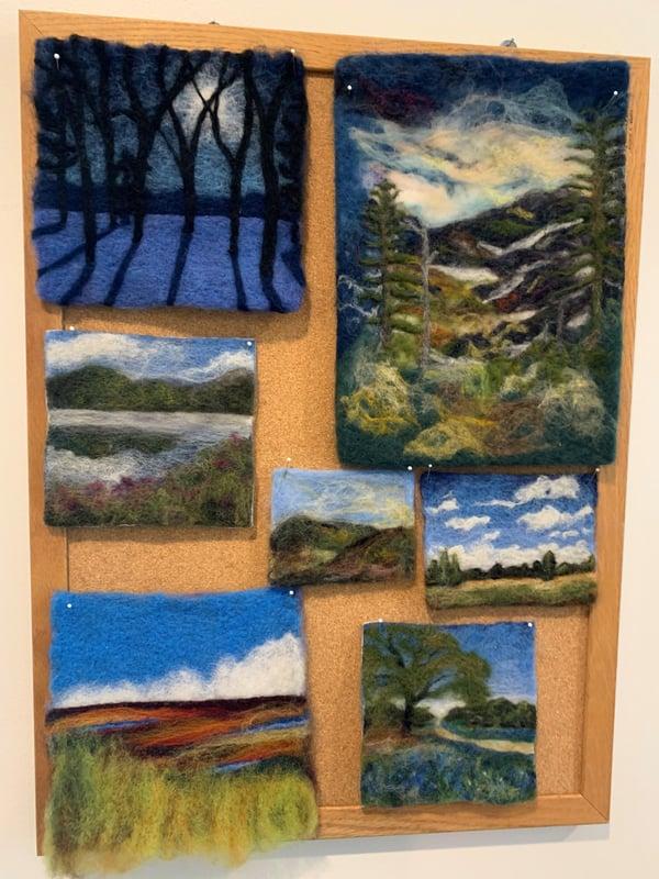 Russ and Karen Bring Creative Art Forms to Kendal