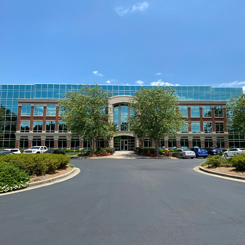 Exterior photo of our Johns Creek location