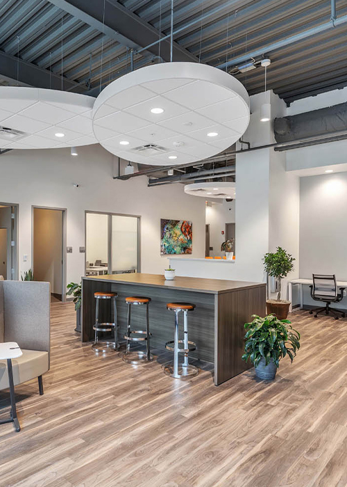 At Office Evolution Carmel Co-working is cost effective