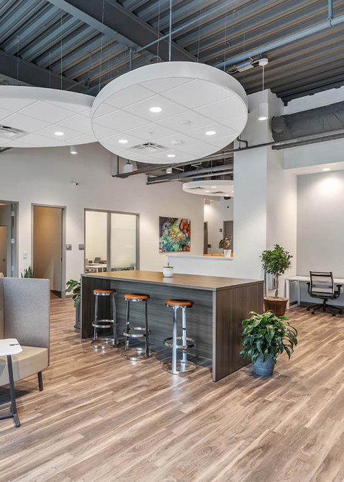 At Office Evolution Greensboro Co-working is cost effective