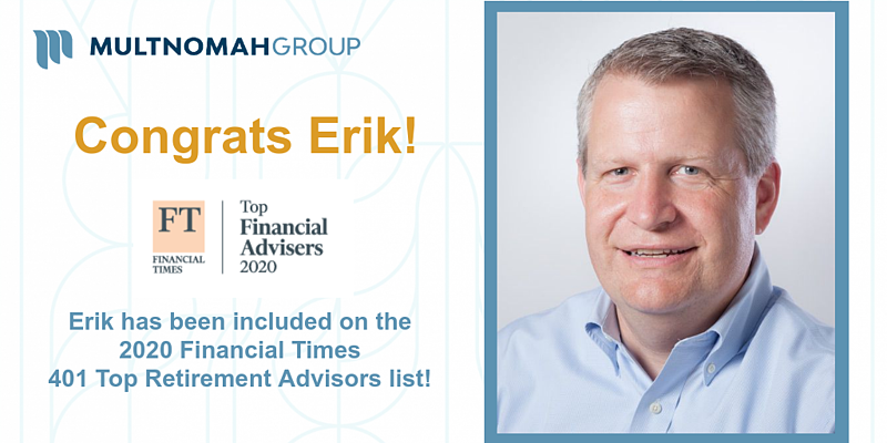 Daley Named to 2020 Financial Times 401 Top Retirement Advisers