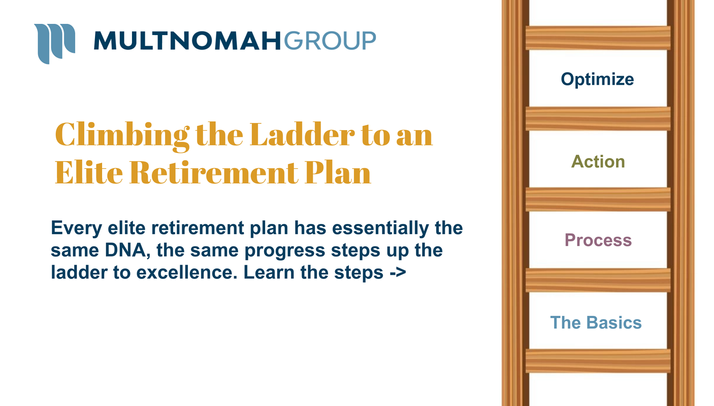 A Guide to Climbing the Ladder to an Elite Retirement Plan