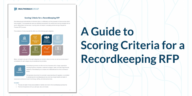 Scoring Criteria for a Recordkeeping RFP