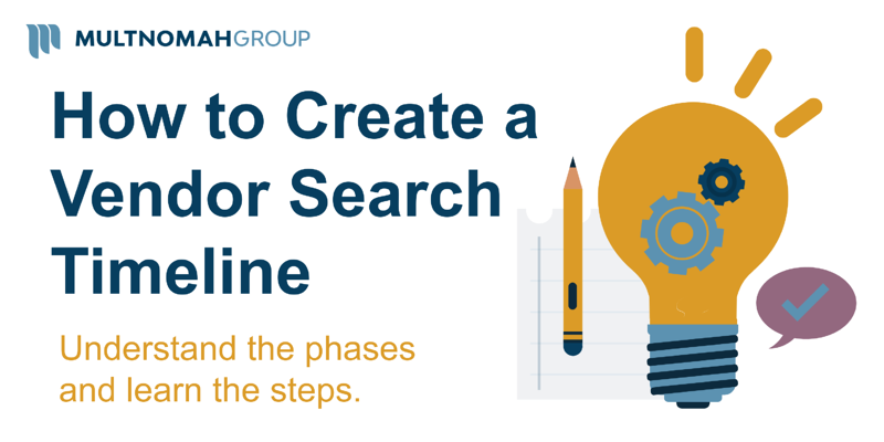 How to Create a Vendor Search Timeline