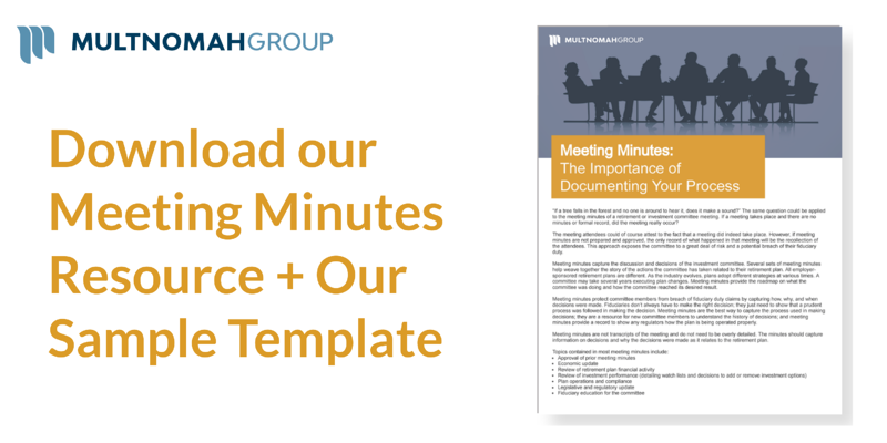 Meeting Minutes: The Importance of Documenting Your Process
