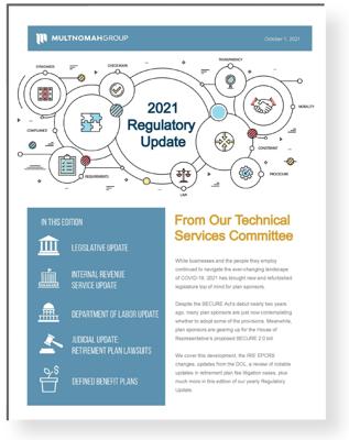 2021 Retirement Plan IRS Regulatory Update