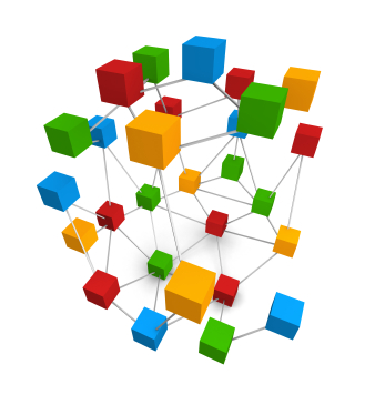 Cubes_Joined_Together_by_Lines_Shape_Colourful_3D_Animation_Symbol
