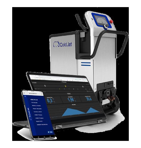 Cold Jet CONNECT®- die smarte Wahl für Support, Schulungen und Analysen