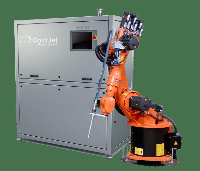 Automatiza tus procesos de rebabeo con hielo seco