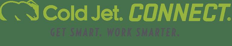 Cold Jet CONNECT® - le choix intelligent pour l'assistance, la formation et l'analyse des données