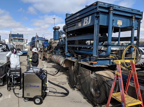 Las aplicaciones y beneficios de la Limpieza con Hielo Seco para las Minerías