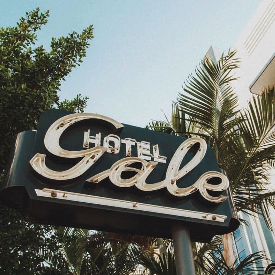 The Gale South Beach Hotel Sign