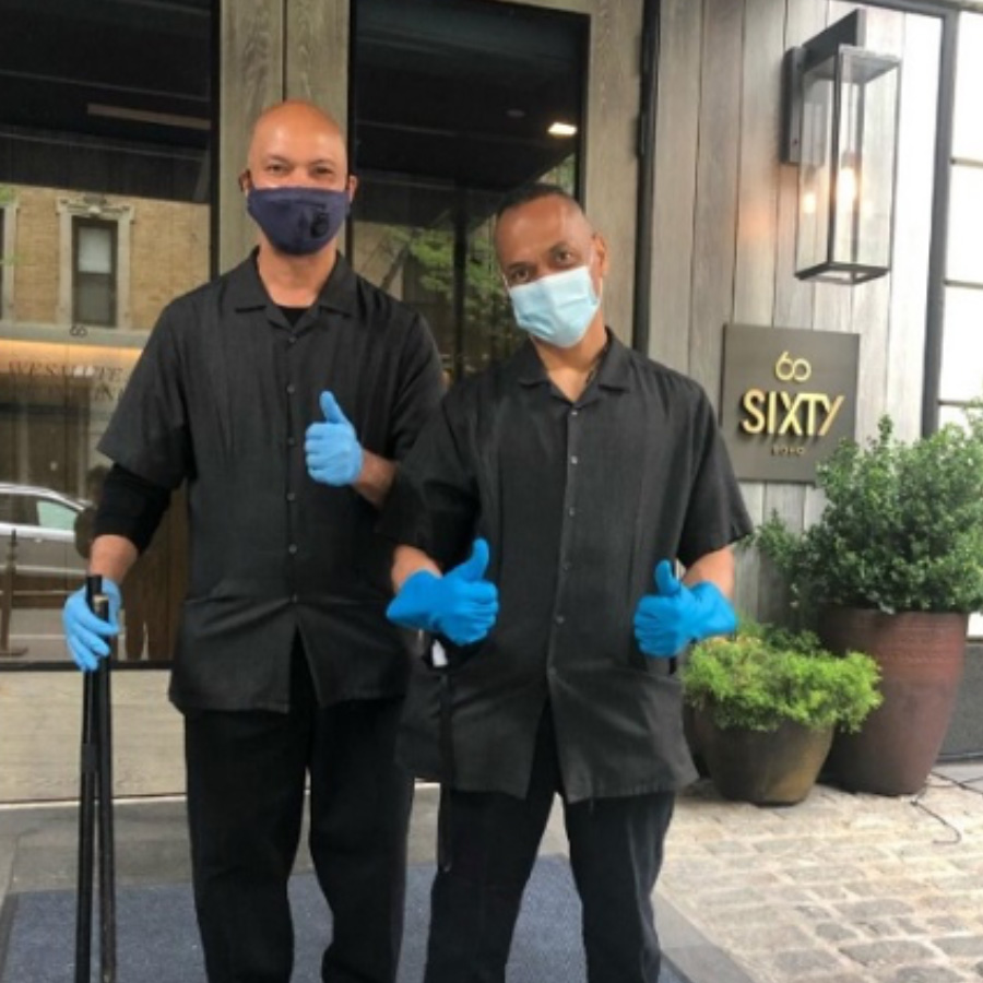 SIXTY Hotel Masks