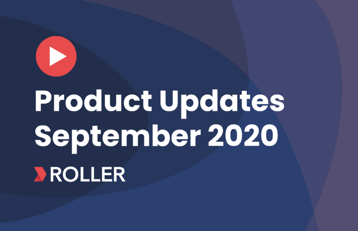 September Product Update Video