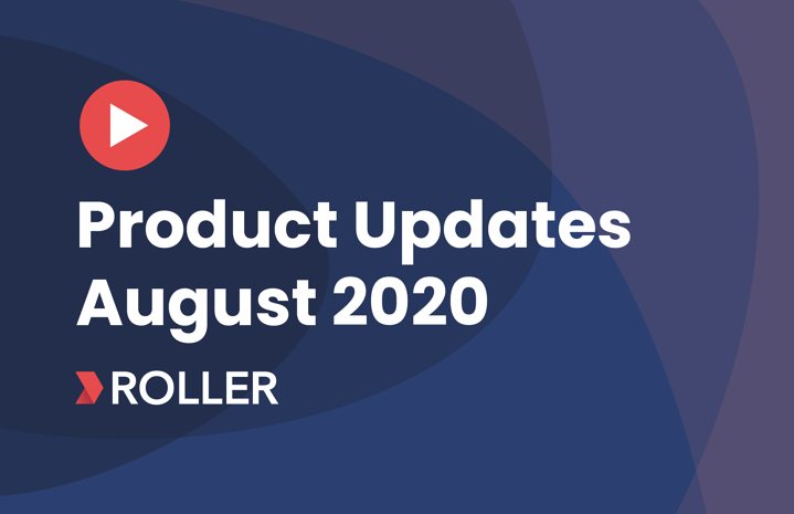 August product update video