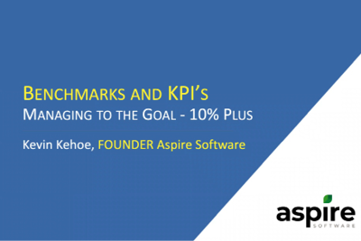 Benchmarks and KPIs: The Road to Higher Profits