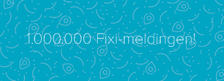1 miljoen Fixi-meldingen: inwoners melden het meest over vuil en zwerfafval