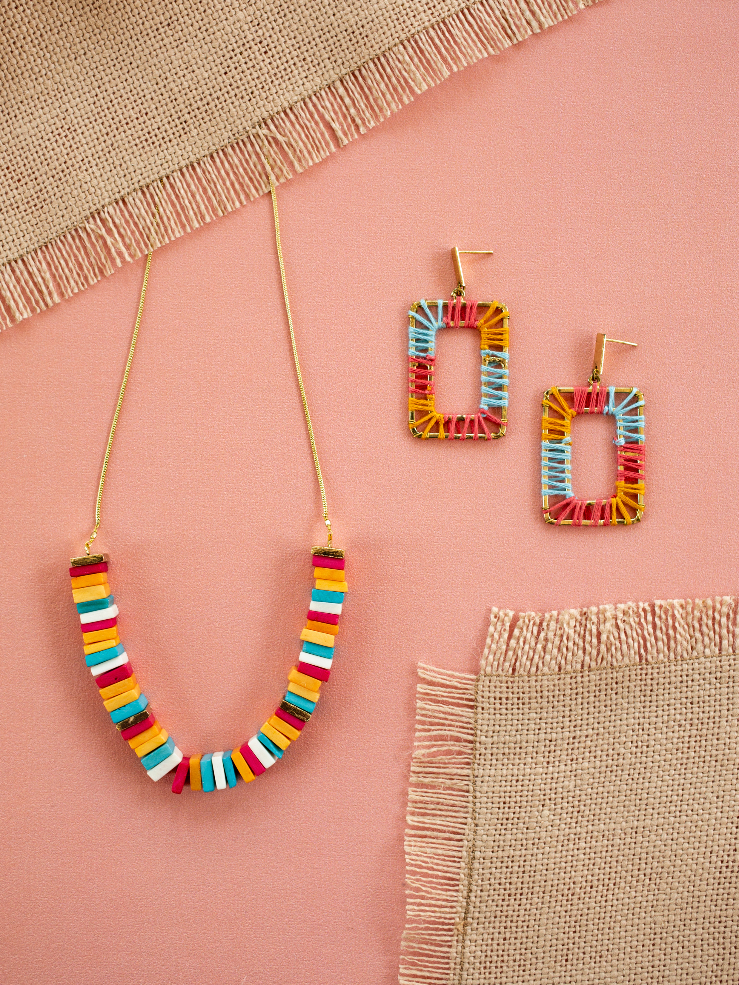 Mata Traders Earrings and Necklace