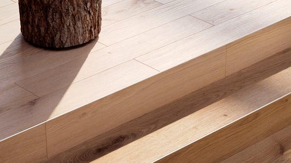 Vinyl van Tarkett is bijna niet te onderscheiden van echt hout