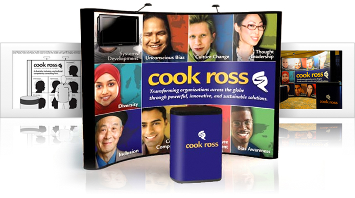 Cook Ross Case Study - Trade Show Exhibit Display