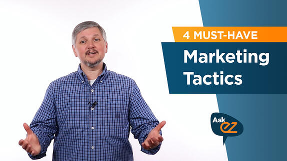 What Kind of Marketing Should I Be Doing? - Ask EZ