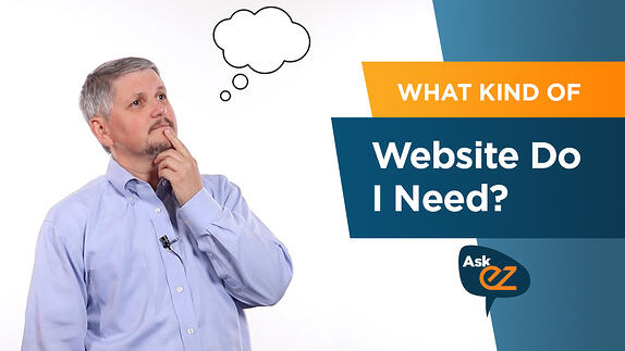 What Kind of Website Do I Need? - Ask EZ