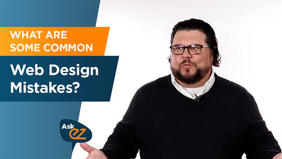What are Some Common Web Design Mistakes? - Ask EZ