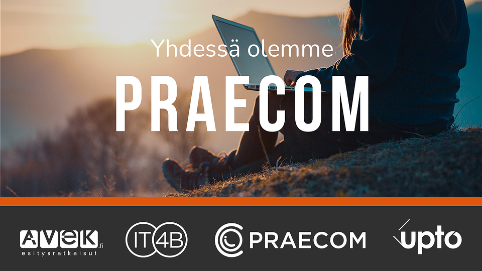 Praecom Groupin tytäryhtiöt vaihtavat markkinointinimekseen Praecom