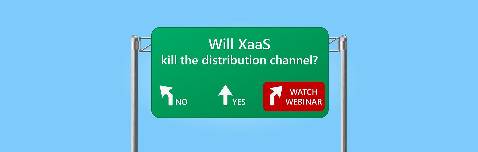 Will XaaS kill the cloud distribution channel?