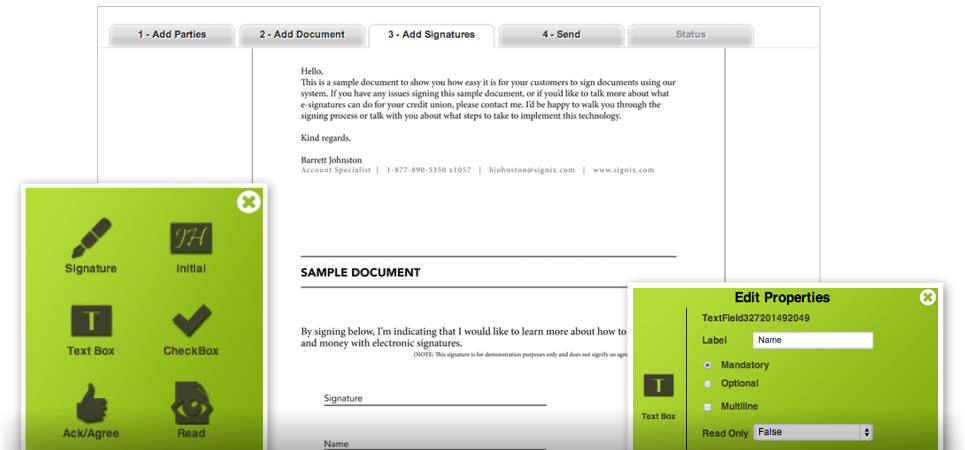 electronic signature service how it works signix www With online document signature service