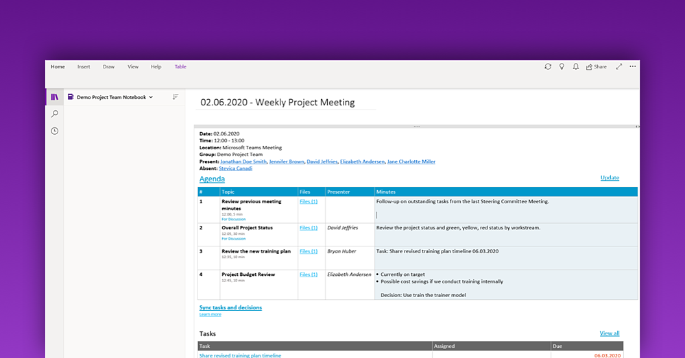 2020 meeting tools - 2.2 organized meeting minutes - illustrative and edited